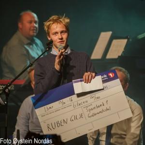 Ruben Gilje talentprisvinner - 1